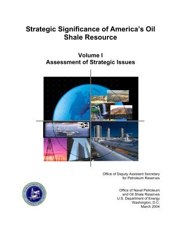 Strategic Significance of America's Oil Shale Resource - Volume