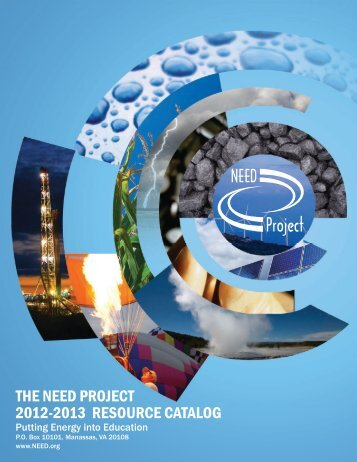 2012-2013 RESOURCE CATALOG THE NEED PROJECT