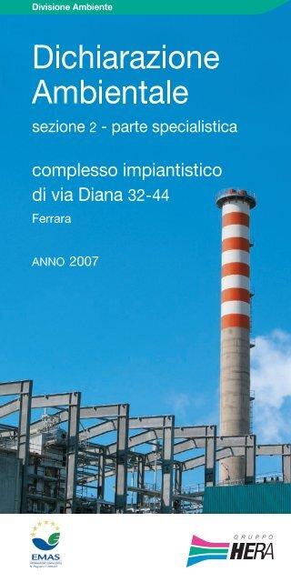Dichiarazione Ambientale - Complesso ... - Il Gruppo Hera