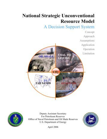 National Strategic Unconventional Resource Model - DOE - Fossil ...