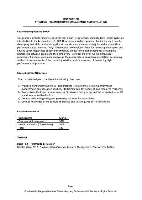 integrated human resource management