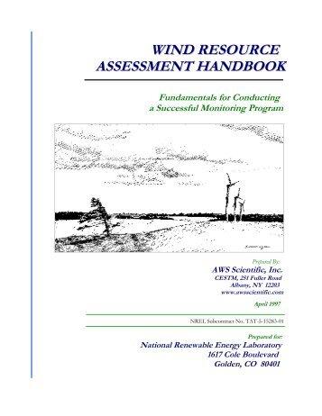 Wind Resource Assessment Handbook: Fundamentals for ... - NREL
