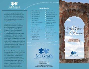 Human Resources Consulting - McGrath Consulting LLC