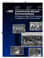 Community-Based Environmental Protection: A Resource Book for ...
