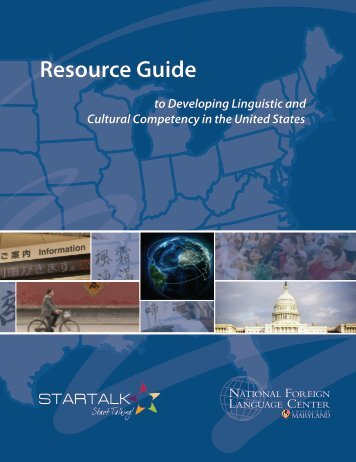 NFLC Resource Guide - National Foreign Language Center