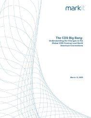The CDS Big Bang Research Report - Markit.com