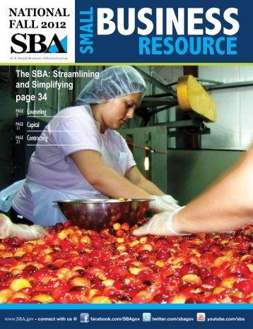 National Resource Guide - SBA