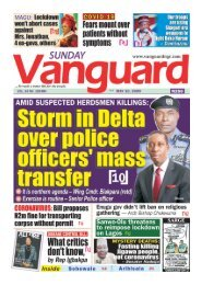 10052020 - Storm in Delta over police officers mass transfer