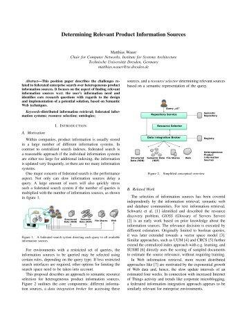 Repository Service - Computer Networks - Technische Universität ...
