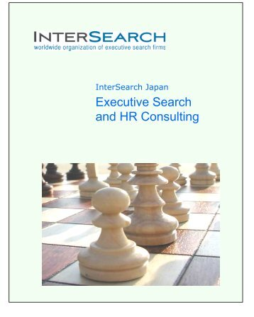 Executive Search and HR Consulting - InterSearch Japan