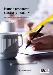 Human resources solutions industry - ERA