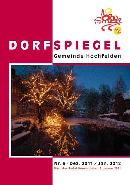 6 Dezember/Januar - Hochfelden
