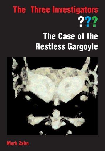 The Case of the Restless Gargoyle - The Three Investigators US ...