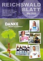 Reichswaldblatt Mai 2020