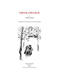 CHUCK AND GECK - Arvind Gupta