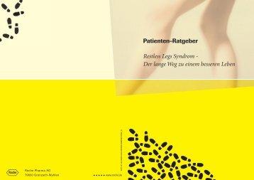 Patienten-Ratgeber Restless Legs Syndrom - Der lange Weg zu ...