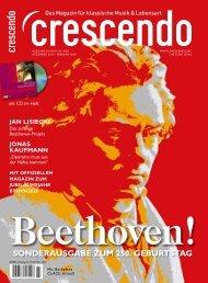 CRESCENDO 7/19&1/20 Sonderausgabe Beethoven