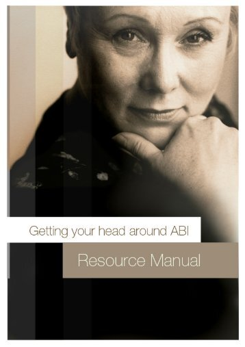 ABI Resource Manual - Department of Human Services