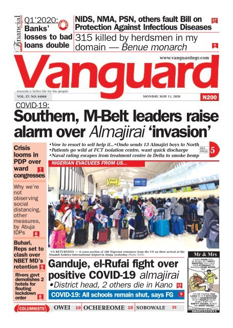 11052020-Southern, M-Belt Leaders raise alarm over Almajirai invasion