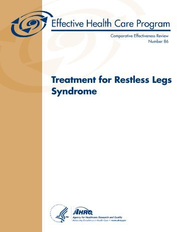 Treatment for Restless Legs Syndrome - AHRQ Effective Health ...
