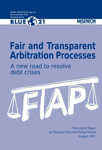Fair and Transparent Arbitration Processes - FDCL