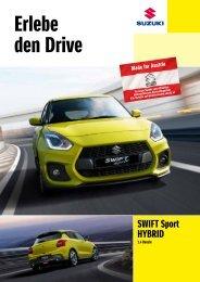 SWIFT Sport HYBRID Modellprospekt