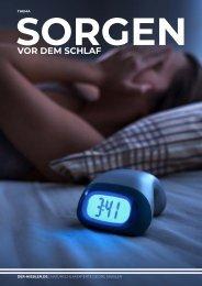 Sorgen und Unruhe vor dem Schlaf