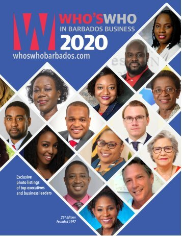 Who's Who in Barbados Business 2020-Digital Edition