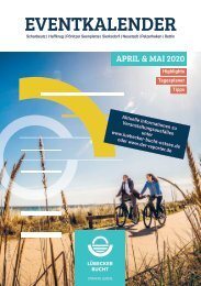 Eventkalender Lübecker Bucht April/Mai 2020