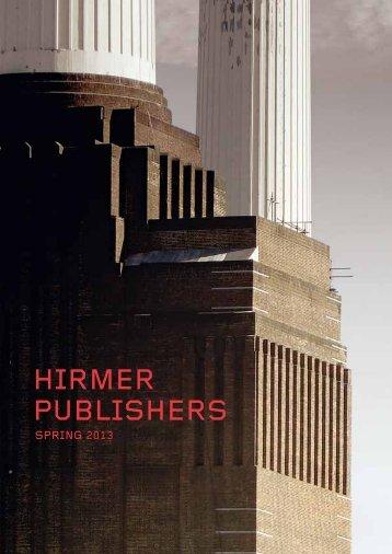 HIRMER PUBLISHERS - Hirmer Verlag