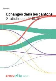 Movetia Echanges dans les cantons Statistique 2018/19