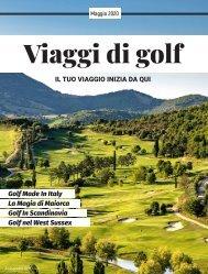Viaggi di Golf - Maggio 2020