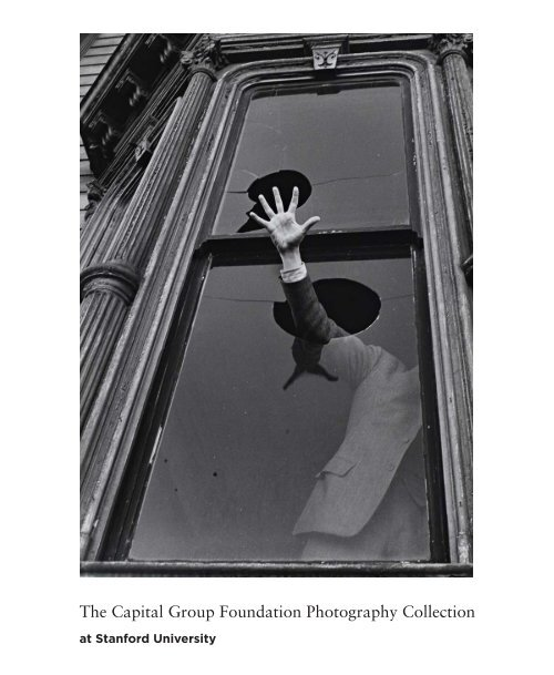 Brochure | The Capital Group Foundation Photography Collection at Stanford University