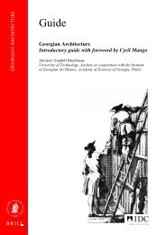 Georgian Architecture Introductory guide with ... - IDC Publishers