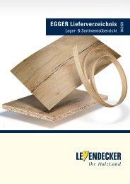 Egger Lieferverzeichnis 2020/ 2022