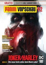 Panini Vorschau 92: Neuheiten Juli/August 2020