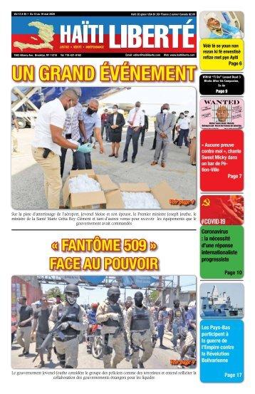 Haiti Liberte 13 Mai 2020