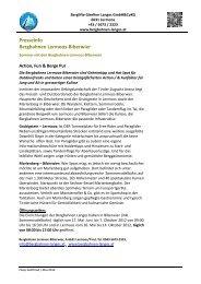 Presseinfo Bergbahnen Lermoos-Biberwier - Bergbahnen Langes ...