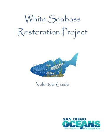 White Seabass Restoration Project - University of Southern California