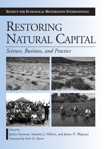 RESTORING NATURAL CAPITAL - Inecol