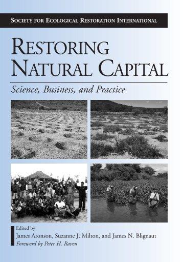 RESTORING NATURAL CAPITAL - Inecol