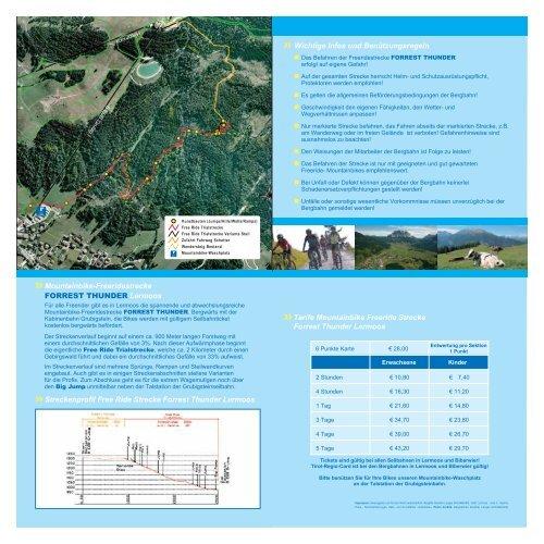 FORREST THUNDER - Bergbahnen Langes, Lermoos - Biberwier