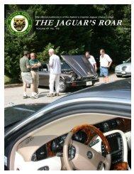 THE JAGUAR'S ROAR - The Nation's Capital Jaguar Owners Club