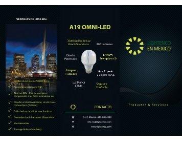 Folleto LED de Lightenco - Lighting Enhancement Corporation