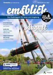 Emsblick Haren Heft 56 (Mai/Juni 2020)