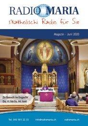 Radio Maria Magazin - Juni 2020