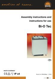 Assembly instructions and instructions for use Bi-O Tec