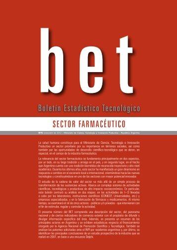 Boletin Estadístico Tecnológico - Ministerio de Ciencia, Tecnología ...