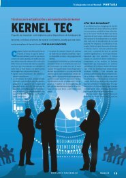 Kernel Tec: [PDF, 3916 kB] - Linux Magazine