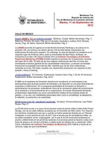 Sep 11, 2012 4:33:09 PM - Tecnológico de Monterrey